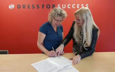 Samenwerking Dress for Success en Pasmatch